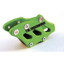 TM Designworks Rear Chain Slide-N-Guide - Green - Acerbis Chain Guide - Green