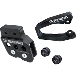 TM Designworks Aftermarket Swingarm Protector Kit Black - 2012 Honda TRX450R (ELECTRIC START) TM Designworks Magnetic Drain Plug