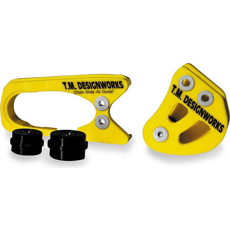 TM Designworks OEM Swingarm Protector Kit - Yellow - Main