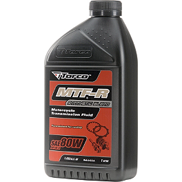 Torco 80W MTF Transmission Oil - 1 Liter - Torco 10W40 T4R Semi-Synthetic 4-Stroke Oil - 1 Liter