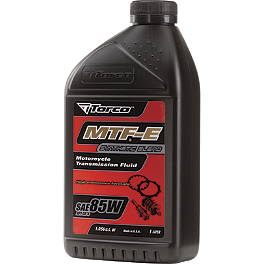 Torco 85W MTF-E Transmission Oil - 1 Liter - Torco GP7 Premix Oil - 16oz