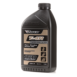 Torco 10W40 T4R Semi-Synthetic 4-Stroke Oil - 1 Liter - Torco 10W40 T4SR Synthetic Oil - 1 Liter