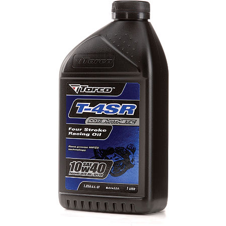 Torco 10W40 T4SR Synthetic Oil - 1 Liter - Main