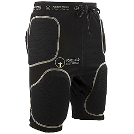 Forcefield Body Armour Action Shorts With Sport Armour - Forcefield Body Armour Zeus Elbow Protector