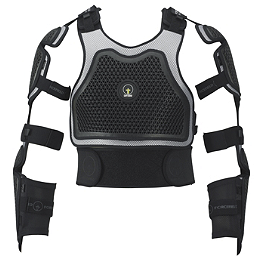 Forcefield Body Armour Extreme Harness Adventure - Forcefield Body Armour Pro L2 Kevlar Back Protector