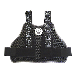 Forcefield Body Armour Race-Lite Chest Protector - Forcefield Body Armour Back Inserts Sport-Lite - Rectangular Shape