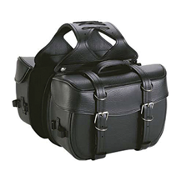 TourMaster Cruiser II Medium Box Saddlebags - TourMaster TB-12 Magnetic Tank Bag