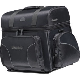 TourMaster Cruiser III Nylon Sissy Bar Bag - Medium - River Road Momentum Series Medium Bike Pack