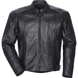 TourMaster Coaster 3 Leather Jacket - River Road Race Vented Leather Jacket