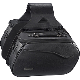 Tourmaster Coaster SL Saddlebags - TourMaster Cruiser III Nylon Box Saddlebag - Large