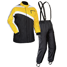 TourMaster Defender Rainsuit - Joe Rocket RS-2 Rain Suit