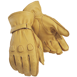 TourMaster Deerskin Gloves - TourMaster Select Summer Gloves