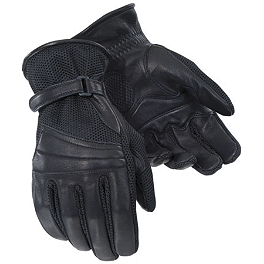 TourMaster Gel Cruiser 2 Gloves - Power Trip Jet Black Gloves