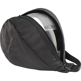 TourMaster Select Lid Pack Bag - Dowco Nylon Black Helmet Bag