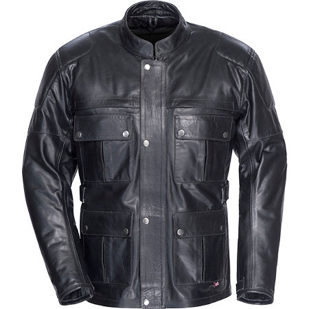 TourMaster Lawndale Leather Jacket - Main