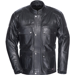 TourMaster Lawndale Leather Jacket - Dainese New Super Leather Jacket