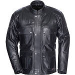 TourMaster Lawndale Leather Jacket - Tour Master Dirt Bike Jackets and Vests