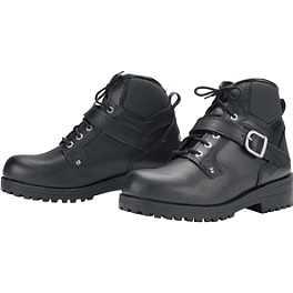 TourMaster Nomad 2.0 Boots - River Road Side-Zip Highway Boots