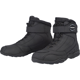 TourMaster Response 2.0 Waterproof Road Boots - Firstgear Kilimanjaro Lo Waterproof Boots