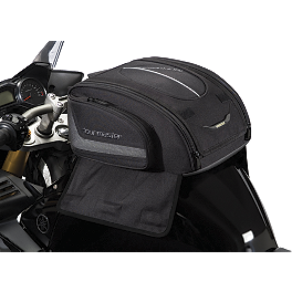 TourMaster Select Medium Tank Bag - Strap Mount - Motocentric Mototrek 19L Tank Bag - Strap Mount