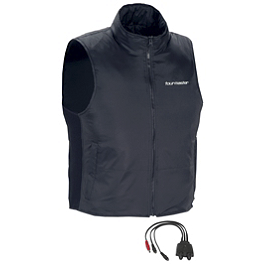 TourMaster Synergy 2.0 Electric Vest Liner With Collar - TourMaster Synergy 2.0 Electric Vest Liner