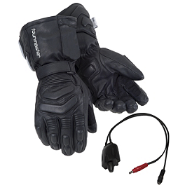 TourMaster Synergy 2.0 Electric Leather Gloves - TourMaster Synergy 2.0 Electric Textile Gloves
