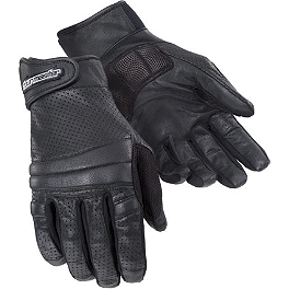 TourMaster Summer Elite 2 Vented Gloves - Vance & Hines Naked VO2 Skullcap Air Cleaner Insert