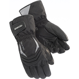 TourMaster Women's Cold-Tex 2.0 Gloves - Power Trip Women's Jet Black Gloves