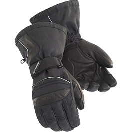 TourMaster Women's Polar-Tex 2.0 Gloves - Power Trip Women's Jet Black Gloves