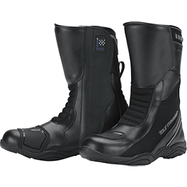 TourMaster Women's Solution WP Air Boots - Alpinestars Arctic Drystar Gloves