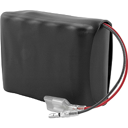 Trail Tech NiMH Vehicle Mount Battery - 2007 Honda CRF450R Trail Tech Vapor Computer Kit - Stealth