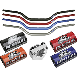 Trail Tech Bar Clamp With Renthal Fat Bar Combo - 2014 Honda TRX400X Trail Tech Vector Computer Kit - Silver