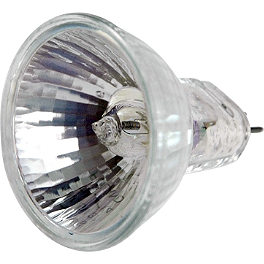 Trail Tech Torch Flood Bulb 75W - 2000 Yamaha WARRIOR Trail Tech Vapor Computer Kit - Silver