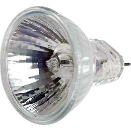 Trail Tech Torch Spot Bulb 50W - 2008 Honda TRX450R (ELECTRIC START) Trail Tech Vapor Computer Kit - Silver