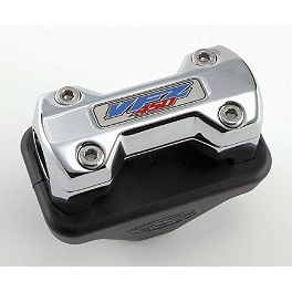 "Trail Tech Dashboard Bar Mount For Vapor/Vector Computer - Standard 7/8"" Bars With Logo - 2010 Yamaha RAPTOR 700 Trail Tech Vapor Computer Kit - Silver"