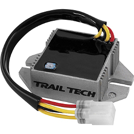 Trail Tech 150W Full Wave Regulator / Rectifier - 2012 Honda CRF250X Trail Tech Voyager GPS Computer Kit - Stealth