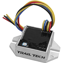 Trail Tech Universal 150W Full Wave Regulator / Rectifier - 2004 Yamaha YZ450F Trail Tech Vapor Computer Kit - Silver
