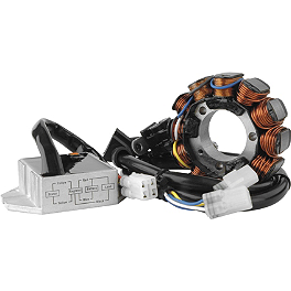 Trail Tech High Output Lighting Stator System - 2012 Honda CRF450X Trail Tech Vapor Computer Kit - Silver