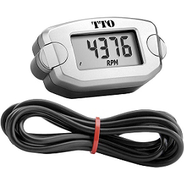 Trail Tech TT0 Tach/Hour Meter - Trail Tech TT0 Handlebar Mount Kit