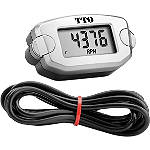 Trail Tech TT0 Tach/Hour Meter - Dirt Bike Headlight Kits, CDI Units & Electrical Accessories