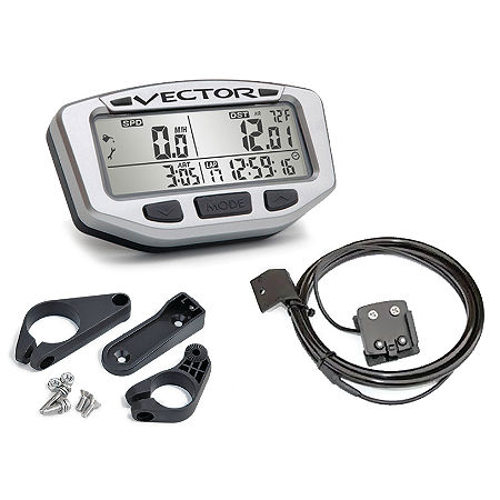 Trail Tech Vector Computer Kit - Silver - Main