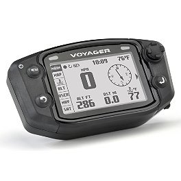 Trail Tech Voyager GPS Computer Kit - Stealth - 2007 Yamaha WR250F Baja Designs EZ Dual Sport Kit Electric Start