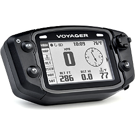 Trail Tech Voyager GPS Computer Kit - Stealth - 2000 Yamaha WARRIOR Trail Tech Vapor Computer Kit - Silver