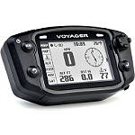 Trail Tech Voyager GPS Computer Kit - Stealth - Dirt Bike Headlight Kits, CDI Units & Electrical Accessories