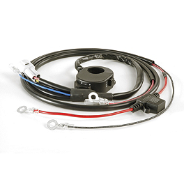 Trail Tech Light Wire Harness With 3-Position Kill Switch - 2004 Honda CRF450R Trail Tech Vapor Computer Kit - Silver
