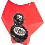 Trail Tech X2 70W Halogen Lights - Dirt Bike Headlight Assemblies
