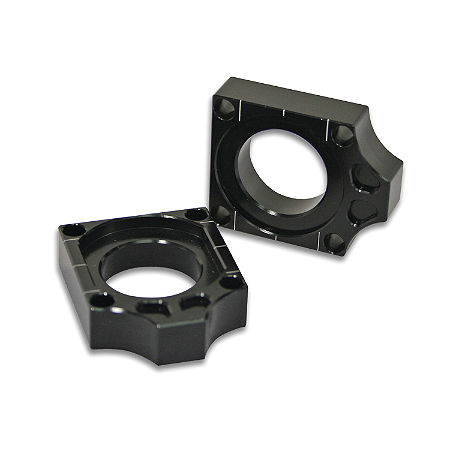 Turner Axle Blocks - Black