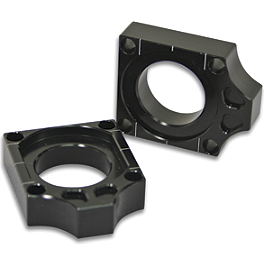 Turner Axle Blocks - 2013 Honda CRF450R Turner Oversized Bar Mounts With Pro Taper Contour Handlebar Combo