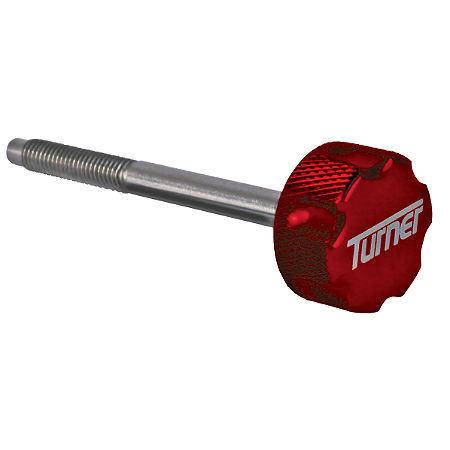Turner Billet Air Filter Bolt - Red - Main