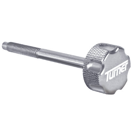 Turner Billet Air Filter Bolt - Silver - Main